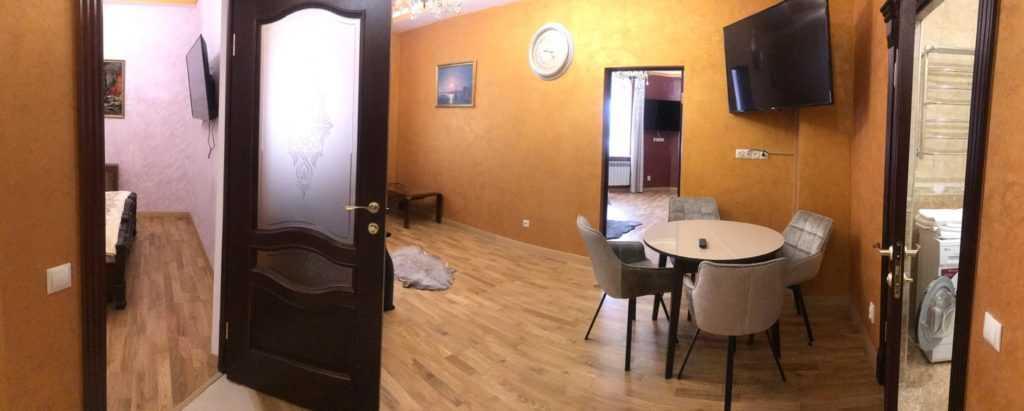 Реконструкция квартиры в Венецианском стиле